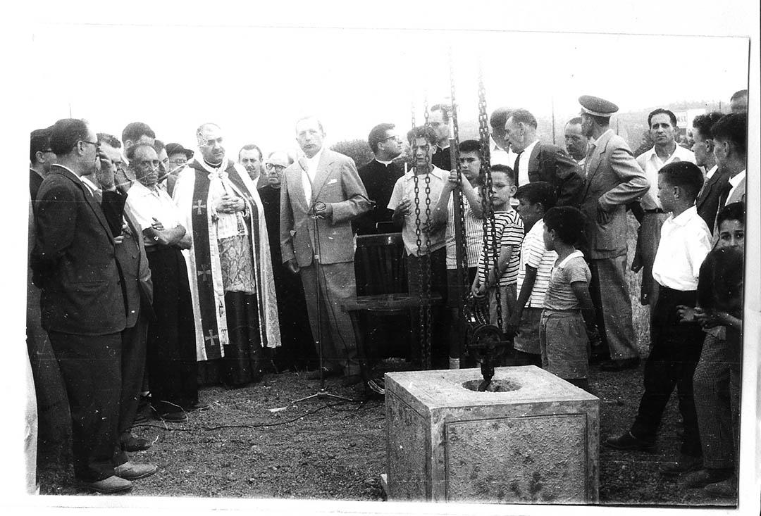 1959 Col·locació primera pedra