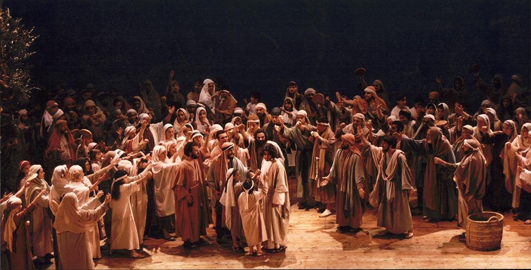 Escena Jesús Pans i Peixos ES-0037