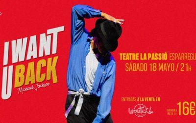 """""""I want u back"""" de Michael Jackson el 18 de maig a les 21h al Teatre de la Passió"""
