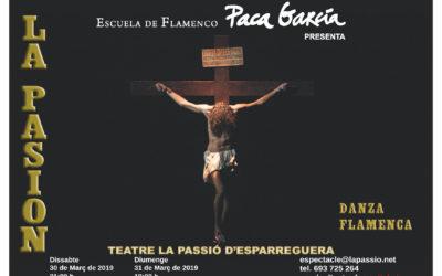 La Passió Flamenca torna a La Passió d'Esparreguera