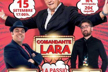 Comandante Lara torna a ESPARREGUERA