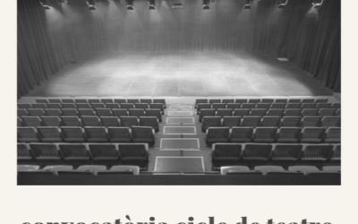 Convocatòria Cicle de Teatre 2020
