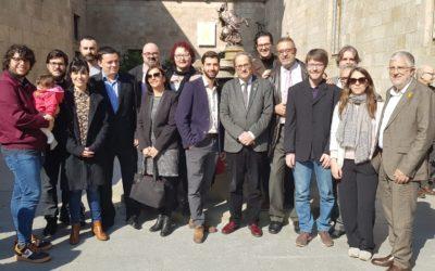 La Federació Catalana de Passions presenta la temporada 2020 al Palau de la Generalitat de Catalunya
