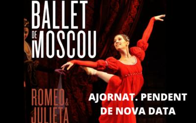 Ajornat l'espectacle del Ballet de Moscou