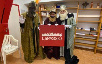 Rebuda de Ses Majestats Els Reis de l'Orient al Teatre de La Passió d'Esparreguera