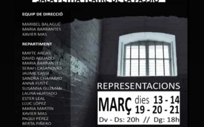 """13,14, 19, 20 i 21 """"Presas"""" dirigida per Maribel Balagué"""